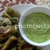Crispy Zucchini Sticks w/Creamy Avocado Dip (GF)