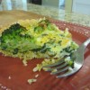 Green Quiche w/Brown Rice Crust (Gluten-Free)
