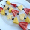 Fruit and Raw Cheese Kabobs (GF)
