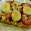Open-Face Waffle Sandwich