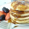 Fruity Coconut Flour Pancakes (GF, DF Option)