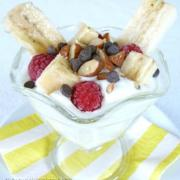 Yogurt Banana Split Parfaits (GF)