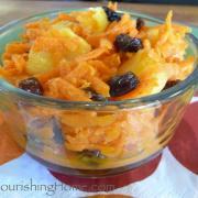 Caribbean Carrot Salad (GF)