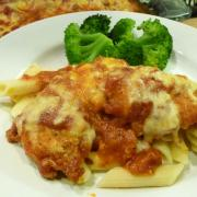 Chicken Parmigiana / Parmesan Chicken Tenders (GF Option)