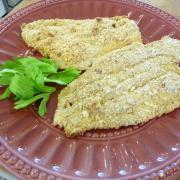 Healthier Breaded Fish (GF Option)