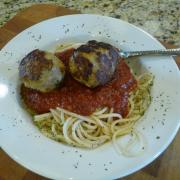 Turkey Meatballs (GF Option)