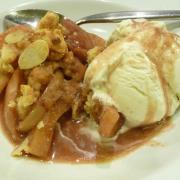 Hot Apple Crisp (GF)