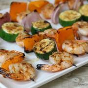 Grilled Shrimp Kabobs (GF)