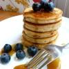 Fluffy Little Almond Flour Pancakes (GF, DF Option)
