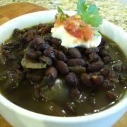 Crockpot Black Beans (GF)