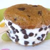 Healthier Ice Cream Sandwich Cookies (GF Options)