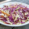 Apple-Carrot (& cabbage) Coleslaw