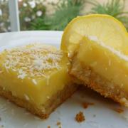 Luscious Lemon Bars (GF)