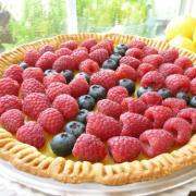 Lemon Berry Tart (GF)