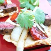 Grilled Steak & Veggie Fajitas (GF Option)