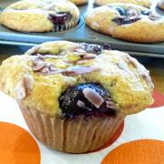 Cherry-Almond Muffins (GF, DF)