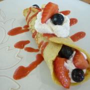 Fabulous Fruit-Filled Crepes (GF)
