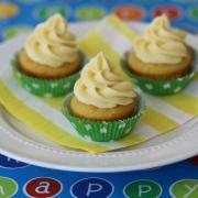 Lemondrop Cupcakes with Creamy Lemon Frosting (GF)