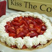 Strawberry Shortcake Pie (GF)