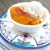 Summertime Favorite: Grilled Peaches & Cream (GF)