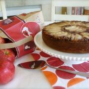 Apple Streusel Upside Down Cake (GF)