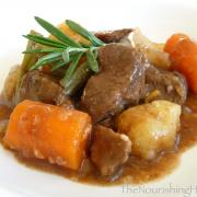 Easy Crockpot Beef Stew (GF, DF)
