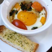 Simply Savory Baked Eggs (GF)
