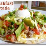 Tasty Breakfast Tostada (GF)