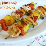 Grilled Pineapple Chicken Kebobs