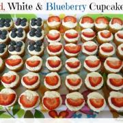 Favorite Holiday Recipe: Patriotic Cupcakes (GF)