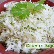 Baja-Style Cilantro Rice