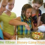 Honey-Lime Fruit Salad {Yummy, Yummy!}