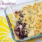 Berry Breakfast Cobbler (GF)