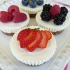 No Bake Mini-Cheesecakes (GF)