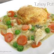 Simple Turkey or Chicken Pot Pie (GF)