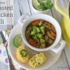 Roasted Chicken Chili (GF, Whole30 option)