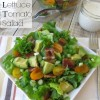 Bacon, Lettuce & Tomato Salad {with Avocado & Ranch}