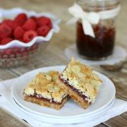 Raspberry Crumble Bars {from Everyday Grain-Free Baking}