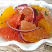 How to Section Citrus Fruit {Easy Citrus Salad}