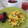 How to Make Perfect Scrambled Eggs {And Veggie Egg Scrambles}