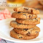 Almost Oatmeal Cookies (Grain-Free, Egg-Free, Dairy-Free Option)