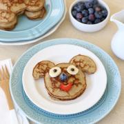Coconut Flour Banana Pancake Buddies (GF, DF)