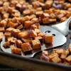 Roasted Herb Sweet Potato Bites