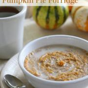 Pumpkin Pie Porridge (Grain-Free, Dairy-Free)