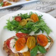 Roasted Caprese Chicken
