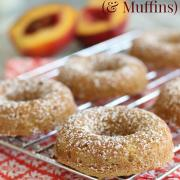 Peach Cobbler Donuts (& Muffins!)