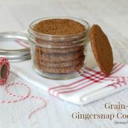 Festive Little Gingersnap Cookies