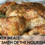 Slow Cooker Rotisserie Style Chicken {Whole30 Guest Post}