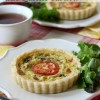 BLT Quiche Tartlets