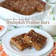 Pumpkin Praline Bars from Everyday Grain-Free Baking